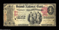 National Bank Notes:Pennsylvania, Titusville, PA - $1 1875 Fr. 384 The Second NB Ch. # ...