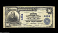 National Bank Notes:Pennsylvania, Troy, PA - $10 1902 Plain Back Fr. 631 The First NB Ch....