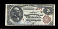 National Bank Notes:Pennsylvania, Verona, PA - $5 1882 Brown Back Fr. 472 The First NB ...