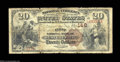 National Bank Notes:Pennsylvania, West Chester, PA - $20 1882 Brown Back Fr. 493 The First ...