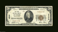 National Bank Notes:Pennsylvania, Dushore, PA- $20 1929 Ty. 1 The First NB Ch. # 4505