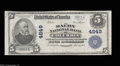 National Bank Notes:Tennessee, Columbia, TN - $5 1902 Plain Back Fr. 603 The Maury NB ...