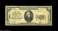 National Bank Notes:Tennessee, Lenoir City, TN - $20 1929 Ty. 1 The First NB Ch. # ...