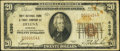 National Bank Notes:Montana, Helena, MT - $20 1929 Ty. 1 First National Bank & Trust Company Ch. # 4396 Very Good-Fine.. ...