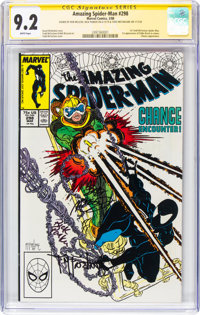 The Amazing Spider-Man #298 Signature Series: Todd McFarlane and Others (Marvel, 1988) CGC NM- 9.2 White pages