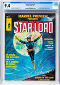 Magazines:Science-Fiction, Marvel Preview #4 Star-Lord (Marvel, 1976) CGC NM 9.4....