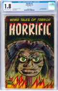 Golden Age (1938-1955):Horror, Horrific #4 (Comic Media, 1953) CGC GD- 1.8 Cream to off-white pages....