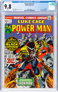 Power Man #17 (Marvel, 1974) CGC NM/MT 9.8 White pages