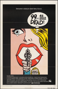 "99 and 44/100% Dead (20th Century Fox, 1974). Folded, Very Fine-. One Sheet (27"" X 41"") Style A. Crime"