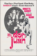 """Movie Posters:Foreign, Ms. Don Juan (Scotia American, 1976). Folded, Very Fine. One Sheet (27"""" X 41""""). Foreign.. ..."""