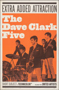 """Movie Posters:Rock and Roll, The Dave Clark Five (United Artists, 1965). Folded, Very Fine. One Sheet (27"""" X 41""""). Rock and Roll.. ..."""