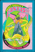 "Movie Posters:Animation, Fantasia (Buena Vista, R-1970). Folded, Fine/Very Fine. One Sheet (27"" X 41""). Animation.. ..."