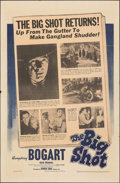 "Movie Posters:Crime, The Big Shot (Warner Bros., 1942). Folded, Very Fine-. One Sheet (27"" X 41""). Crime.. ..."