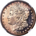 Proof Morgan Dollars, 1878 7TF $1 Rev 1878 PR64 Cameo NGC....