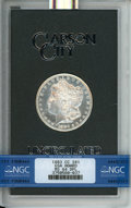 GSA Dollars, 1883-CC $1 GSA MS64 Deep Prooflike NGC. NGC Census: (333/102). PCGS Population: (21/17). MS64....