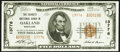National Bank Notes:Maryland, Oakland, MD - $5 1929 Ty. 2 The Garrett National Bank Ch. # 13776 Extremely Fine.. ...