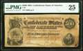 Confederate Notes:1864 Issues, T64 $500 1864 PMG Very Fine 25.. ...
