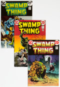 Bronze Age (1970-1979):Horror, Swamp Thing Group of 19 (DC, 1973-76) Condition: Average FN.... (Total: 19 Comic Books)