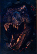 """Movie Posters:Science Fiction, The Lost World: Jurassic Park (Universal, 1997). Very Fine. Lenticular One Sheet (27"""" X 40""""). Science Fiction.. ..."""