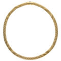 Estate Jewelry:Necklaces, Gold Necklace, Fope. ...