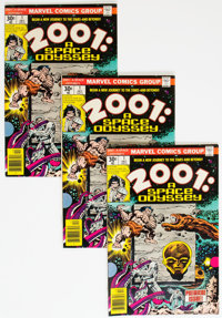 2001: A Space Odyssey #1 Box Lot (Marvel, 1976) Condition: Average FN/VF