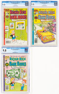 Bronze Age (1970-1979):Humor, Richie Rich Bank Books #36, 40, and 45 Group (Harvey, 1978-80) CGC NM/MT 9.8.... (Total: 3 Comic Books)