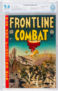 Frontline Combat #13 Gaines File Copy 11/12 (EC, 1953) CBCS NM+ 9.6 Off-white to white pages
