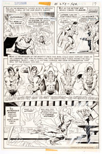 Curt Swan and Murphy Anderson Superman #248 Story Page 16 Original Art (DC, 1972)