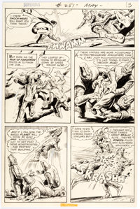 Curt Swan and Murphy Anderson Superman #251 Story Page 12 Original Art (DC, 1972)