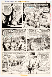 Curt Swan and Murphy Anderson Action Comics #406 Story Page 5 Original Art (DC, 1971)