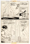 Original Comic Art:Panel Pages, Curt Swan and Murphy Anderson Superman #253 Story Page 6 Original Art (DC,1972)....