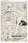 Original Comic Art:Panel Pages, Curt Swan and Murphy Anderson Superman #246 Story Page 15 Original Art (DC, 1971)....