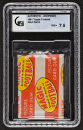 Football Cards:Unopened Packs/Display Boxes, 1951 Topps Magic Football Unopened Wax Pack GAI NM+ 7.5. ...