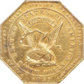 Territorial Gold , 1852 $50 Assay Office Fifty Dollar, 900 Thous. MS60 NGC. K-14, R.5....