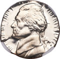 Errors, 1977-S 5C Jefferson Nickel -- Struck on a Dime Planchet, Clashed Dies -- PR67 Ultra Cameo NGC....