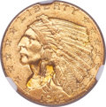 Indian Quarter Eagles, 1912 $2 1/2 MS64+ NGC. CAC....