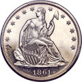 Patterns, 1861 P50C Half Dollar, Judd-279, Pollock-330, Low R.7, PR64 Deep Cameo PCGS. CAC....