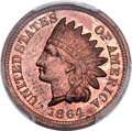 1864 1C One Cent, Judd-356A, Pollock-427, Low R.6, PR64 Red and Brown....(PCGS# 70525)