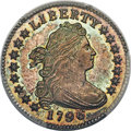 Early Dimes, 1796 10C JR-1, R.3, SP67 PCGS....