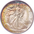 Walking Liberty Half Dollars, 1940-S 50C MS67+ PCGS....