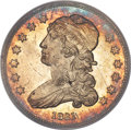 Bust Quarters, 1831 25C Small Letters, B-4, R.1, MS66+ PCGS. CAC....