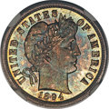 Proof Barber Dimes, 1894-S 10C Branch Mint PR66 PCGS....