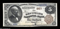 National Bank Notes:Vermont, Montpelier, VT - $5 1882 Brown Back Fr. 467 The ...