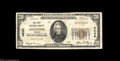 National Bank Notes:Virginia, Onancock, VA - $20 1929 Ty. 1 The First NB Ch. # 4940