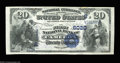 National Bank Notes:West Virginia, Cameron, WV - $20 1882 Value Back Fr. 581 The First NB ...