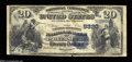 National Bank Notes:West Virginia, Parkersburg, WV - $20 1882 Date Back Fr. 555 The Farmers ...