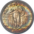 Standing Liberty Quarters, 1917-S 25C Type One MS67+ Full Head PCGS. CAC....