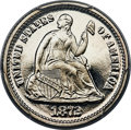 Proof Seated Half Dimes, 1872 H10C PR67+ Deep Cameo PCGS. CAC....