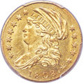 Early Quarter Eagles, 1808 $2 1/2 BD-1, R.4, MS63 PCGS. CAC....