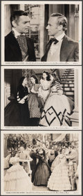 """Movie Posters:Academy Award Winners, Gone with the Wind (MGM, 1939). Very Fine-. Photos (3) (8"""" X 10""""). Academy Award Winners.. ... (Total: 3 Items)"""